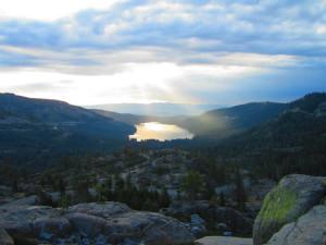 Mountain view at Sugar Bowl Resort.