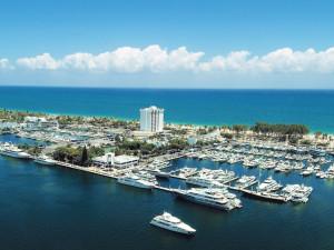 Exterior view of Bahia Mar Beach Resort & Yachting Center.