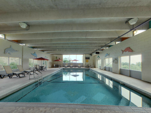 Indoor pool at Old Orchard Inn & Spa.