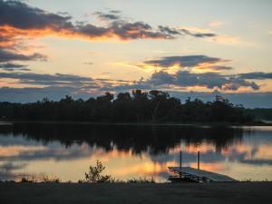 Lake Metigoshe near Turtle Mountain Resort.