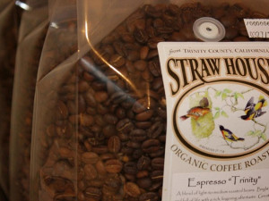 Coffee beans at Strawhouse Resorts.