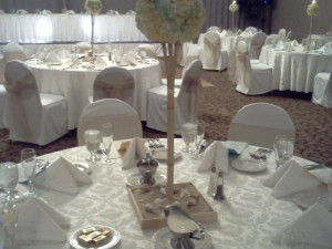 Wedding reception at Colony South Hotel.