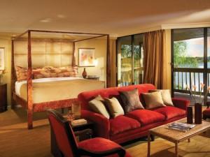 Guest suite at PGA National Resort & Spa.