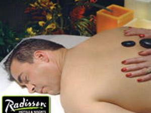 Hot stone massage at Radisson Fort McDowell Resort