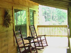 Relaxing at Dancing Sun Cabins