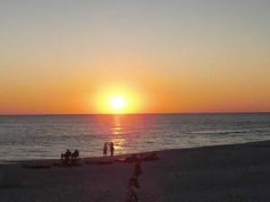 Sunset View at  Bikini Beach Resort