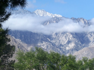 Mountain views at Random Haus.