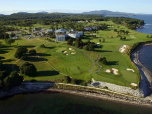 Aerial View of The Samoset Resort