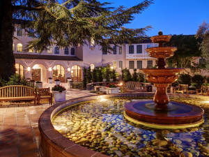 Exterior view of The Fairmont Sonoma Mission Inn & Spa.