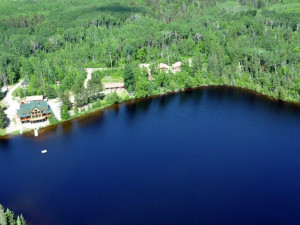 Aerial View of Moose Horn Lodge
