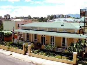 Exterior view of Britannia Hotel.