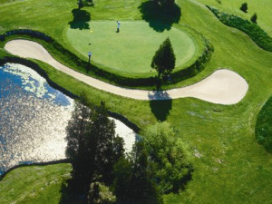 Challenging golf course at Harbourtowne Golf Resort