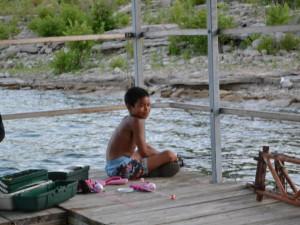 Fishing at Oak Ridge Resort.