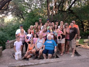 Family reunions at Neal's Lodges.