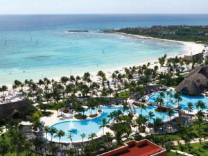 Aerial View at Barcelo Maya Beach Resort