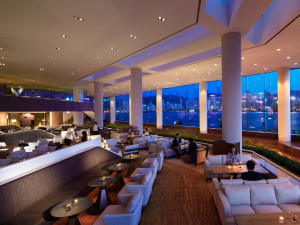 Lobby at InterContinental Hong Kong.
