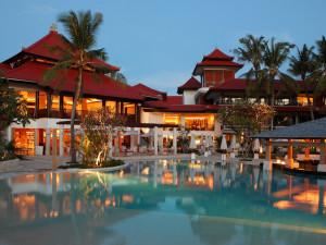 Outdoor pool at Holiday Inn Resort Balihai.