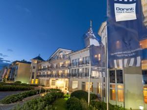 Exterior view of Dorint Strandhotel Binz/Rügen.