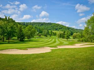 Golf course near Penn Wells Lodge.