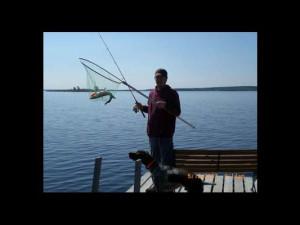 Fishing at Park Point Resort.