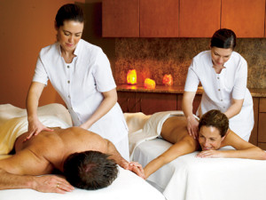 Couples massage at Pillar and Post.