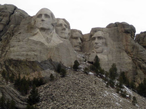 Mount Rushmore near Summer Creek Inn & Spa.