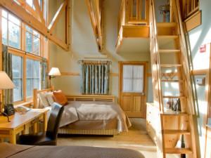 Loft room at Sleeping Lady.
