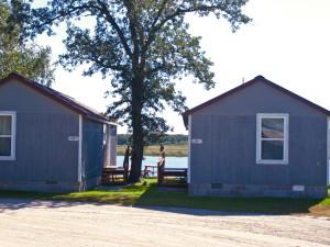 Cabins at River Bend Resort.