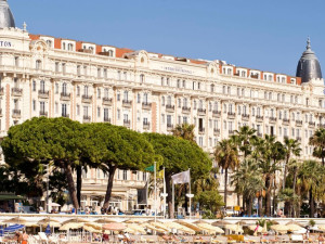 Exterior view of Carlton Inter-Continental Cannes.