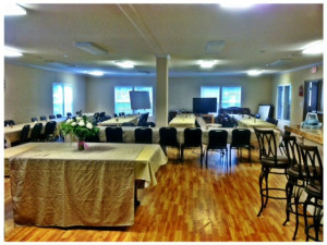 Conference room at Village Lodge Suites.