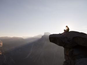 Yosemite National Park rock climbing near Greenhorn Creek Resort.
