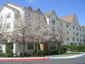 Exterior view of TownePlace Suites by Marriott Milpitas.