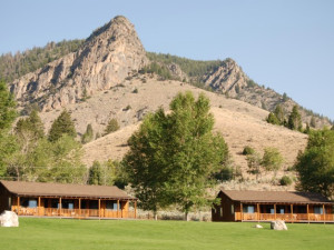 Exterior view of Twin Peaks Ranch.