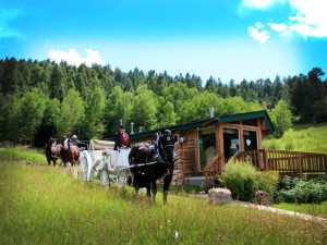 Romantic getaway at Meadow Creek Lodge and Event Center.