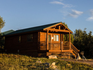 Suite cabin exterior at Zion Ponderosa Ranch.
