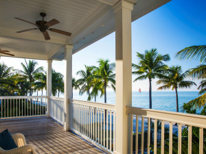 Cottage deck at Sunset Key Guest Cottages, a Luxury Collection Resort.