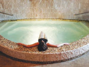 Spa relaxation at The Lodge of Four Seasons.
