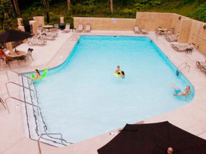 Outdoor Pool at Eden Crest Vacation Rentals