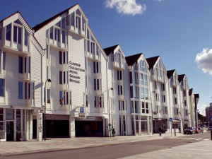 Exterior view of Clarion Collection Hotel Skagen Brygge.
