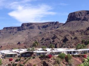 Exterior view of Havasu Springs Resort.