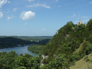 Ha Ha Tonka State Park near Holiday Inn Express Osage Beach.