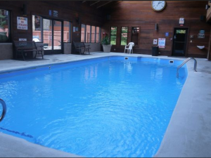 Vacation rental indoor pool at SkyRun Vacation Rentals - Summit County, Colorado.