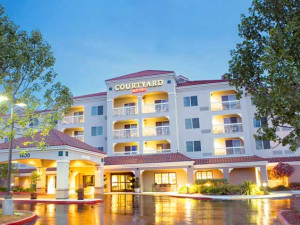Exterior view of Courtyard by Marriott Novato Marin/Sonoma.