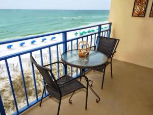 Balcony view at Nautilus Condominiums.