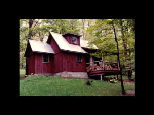 Cabin exterior at Cherry Ridge Cabin Rentals.