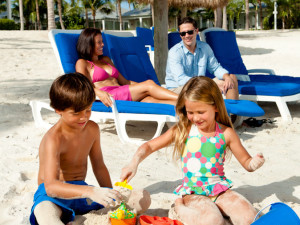 Family at Sunset Key Guest Cottages, a Luxury Collection Resort.