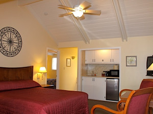 Guest room at Golden Haven Hot Springs Spa and Resort.