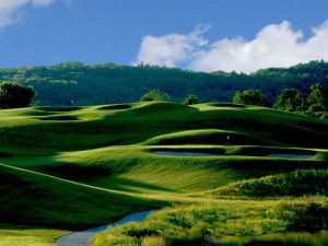 Golf course at Crystal Springs Resort.