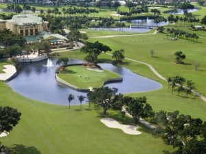 Golf course at The Westin Diplomat Resort.