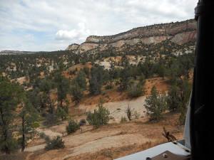 Scenic view at Zion Ponderosa Ranch.